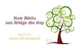 How NGOs can Bridge the Gap