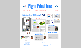 2018 Kindergarten Parent Orientation 2015
