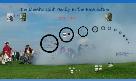 The Wheelwrights and the Revoution (Lit Fes 16)