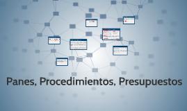 planes, procedimientos, presupuestos