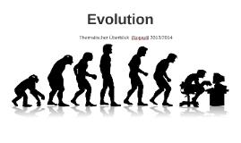 Copy of Evolution