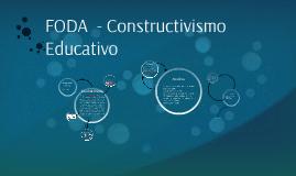 FODA  - Constructivismo