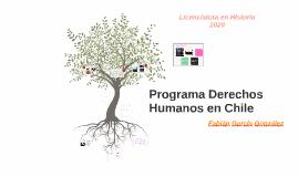 Programa Derechos Humanos en Chile