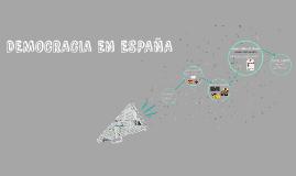 DEMOCRACIA EN ESPAÑA