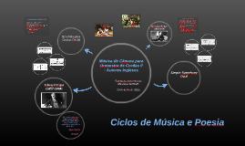 Ciclos de Música e Poesia