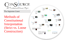 ConSource Curriculum: Strict vs. Loose Construction