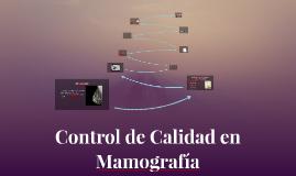 Control de Calidad en Mamografía