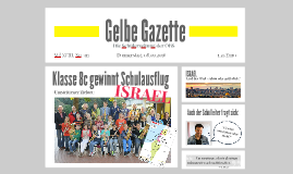 Gelbe Gazette