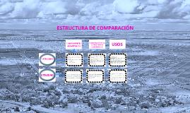 Estructura de comparación