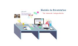 Copy of Modelo de Inventarios de demanda Independiente