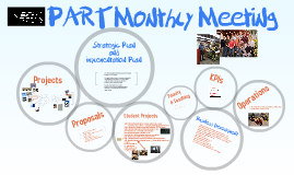 Copy of PART Monthly Meeting