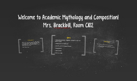 Welcome to Academic Mythology and Composition!