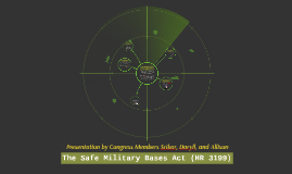 Safe Military Bases Act