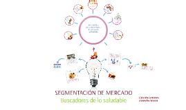 Copy of SEGMENTACIÓN DE MERCADOS: