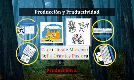 Producciòn y Productividad