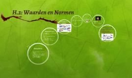 H.2: Waarden en Normen