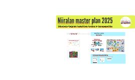Niiralan master plan 2016-2025