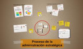 Proceso de administracion estrategica