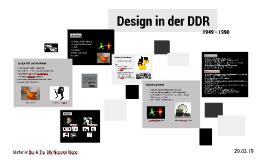 Design in der DDR