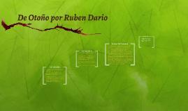 De Otoño por Ruben Dario