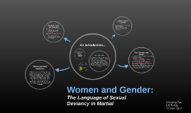 Women and Gender: