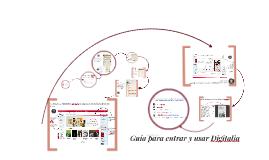 Guía para entrar a Digitalia en la Biblioteca Digital de la Universidad de Guadalajara