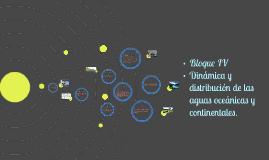 Dinámica y distribución de las aguas oceánicas y continental