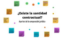 La santidad contractual