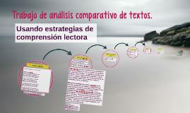 Trabajo de análisis comparativo de textos.
