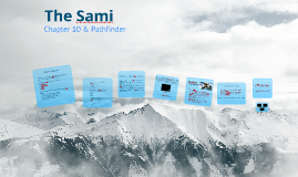 The Sami: Chapter 10 & Pathfinder