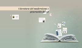 Literatura del modernismo y generación del 98
