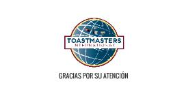 Toastmasters Internacional es una organización educacional n