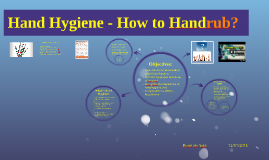 Hand Hygiene - How to Handrub?