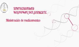 Ministración de medicamentos