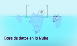 Base de datos en la Nube