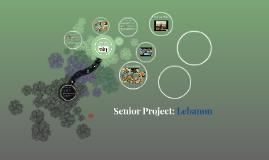 Senior Project: Lebanon