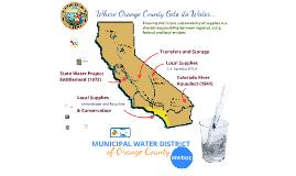 MWDOC Where Orange County gets it's water, Hallway Side 2