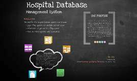 Hospital Database Management System