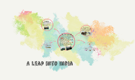 a leap into India