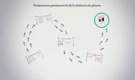 Tratamiento penitenciario de la violencia de género.