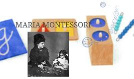 Trabajo Maria Montessori