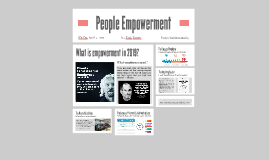 People empowerment as a way of boosting their performance and retaining them