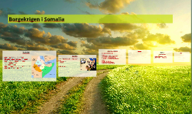 Borgekrigen i Somalia