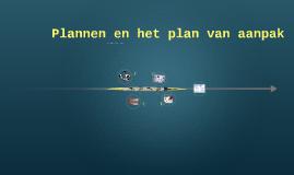 Plannen en het plan van aanpak