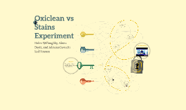 Oxiclean vs Stains Experiment