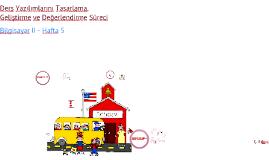 Copy of Eğitsel Yazılım Tasarlama, Geliştirme ve Değerlendirme