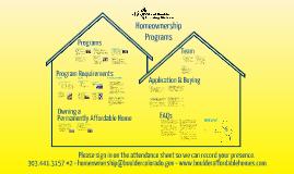 City of Boulder Affordable Homeownership Program – Buyer (Live 8-2016)