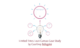 Copy of Limited Times Lean Canvas Case Study