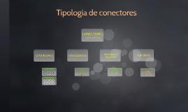 Tipología de conectores