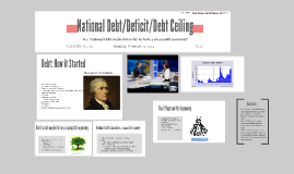 National Debt/Deficit/Debt Ceiling